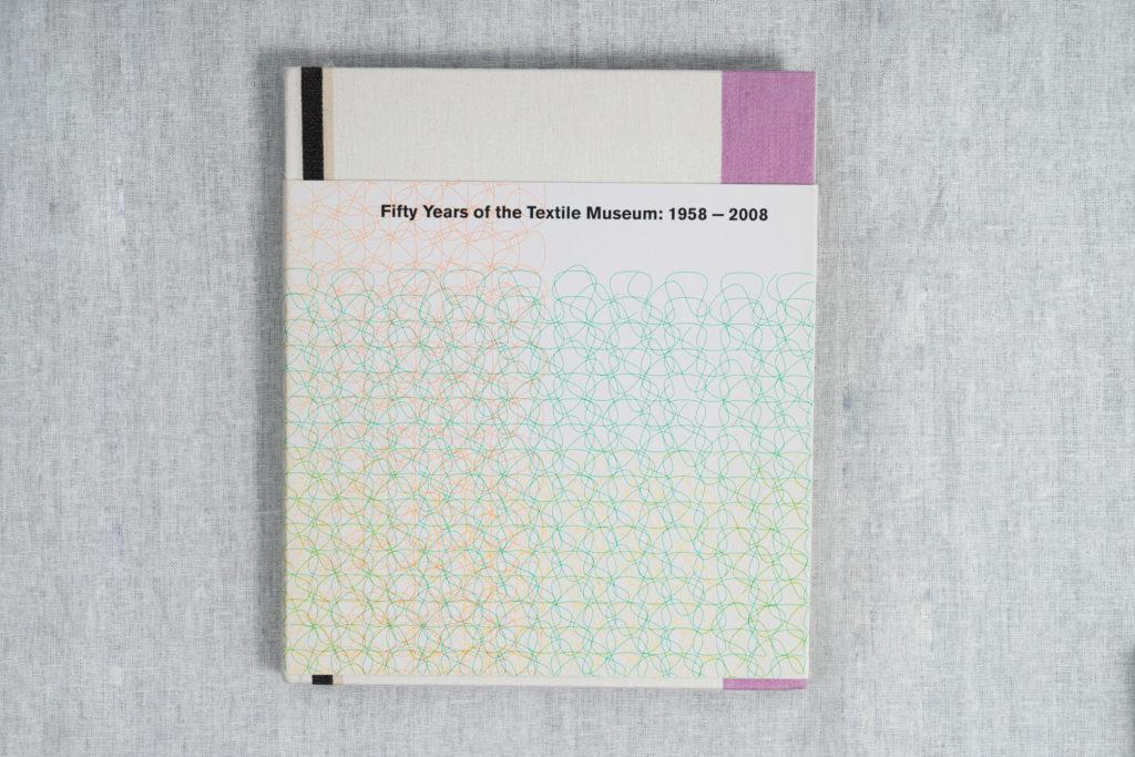 Textile Fifty Years,Textiel Museum Tilburg 1958 - 2008 Book by Annemiek van der Veen and Gert Staal. Pub. Audax Textielmuseum