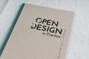 Open Design in Practice - Designers in Residence Kortrijk' Catalogue by Dr. Hilde Bouchez and Jessy Van Durme. Pub. Designregio Kortrijk Vzw