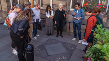 Talking Shop: A Walk by Design in Edinburgh's Old Town