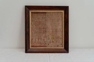 Embroidered Scottish Linen Samplers