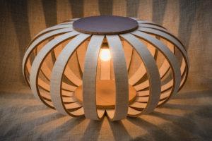 Flax Lamp, Innolin biocomposite lamp