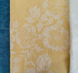 Gold Linen Damask proof cloth