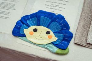 Linen 'Flaxie' puppet, Educational Outreach by Lisburn Museum