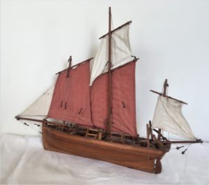 Model Ship purchased second hand, SHELTER shop