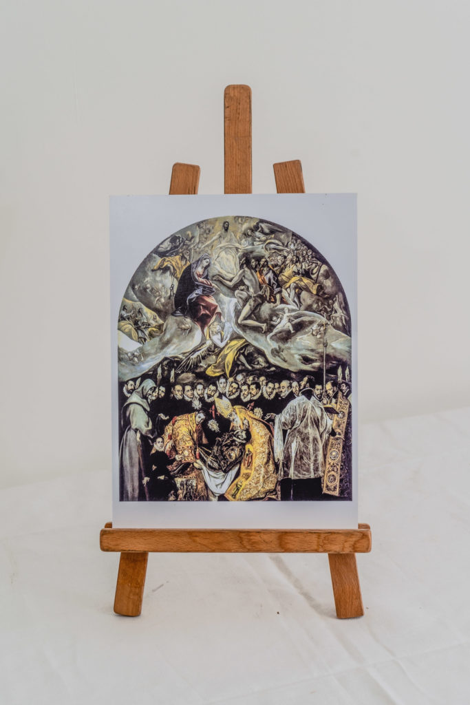 Reproduction of The Burial of the Count of Orgaz by El Greco