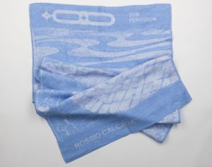 Rossio beach Towel, by Thomas Ferguson Irish Linen