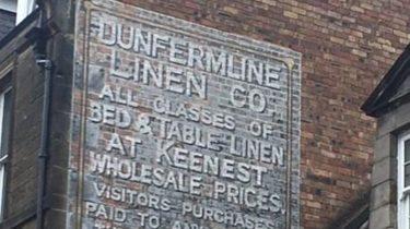 Linen routes through Dunfermline